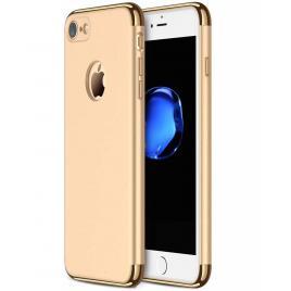 Husa pentru Apple iPhone 8, GloMax 3in1 PerfectFit, Gold