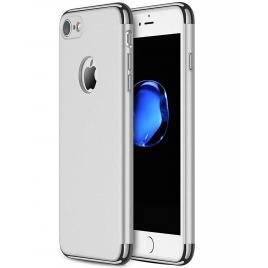 Husa pentru Apple iPhone 8, GloMax 3in1 PerfectFit, Silver