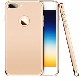 Husa pentru Apple iPhone 8 Plus, GloMax 3in1 PerfectFit, Gold