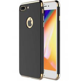 Husa pentru Apple iPhone 8 Plus, GloMax 3in1 PerfectFit, Negru