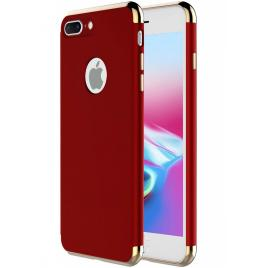 Husa pentru Apple iPhone 8 Plus, GloMax 3in1 PerfectFit, Rosu