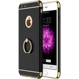Husa pentru Apple iPhone 6 Plus / 6S Plus, GloMax 3in1 Ring PerfectFit, Black