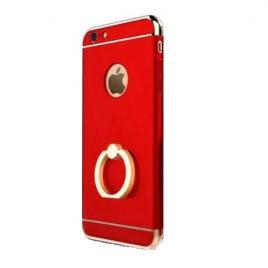 Husa pentru Apple iPhone 6 Plus / 6S Plus, GloMax 3in1 Ring PerfectFit, Red