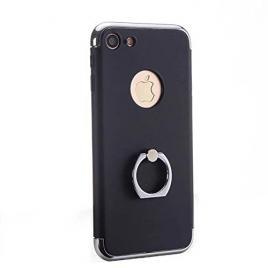 Husa pentru Apple iPhone 7, GloMax 3in1 Ring PerfectFit, Black