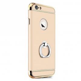 Husa pentru Apple iPhone 7, GloMax 3in1 Ring PerfectFit, Gold