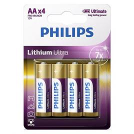 Baterie lithium ultra lr6 aa blister 4 buc philips