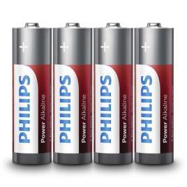 Baterie lr6 tip aa power alkaline blister 4 buc philips