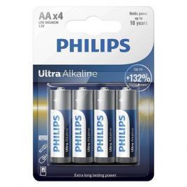 Baterie lr6 tip aa ultra alkaline blister 4 buc philips