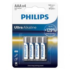 Baterie alcalina ultra lr3 aa blister 4 buc philips