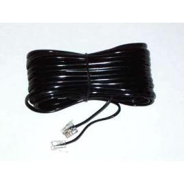 Cablu telefon extensie negru 3m