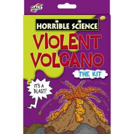 Horrible science - vulcanul violent