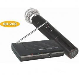 Microfon profesional wireless shure sh-200 cu cablu audio jack