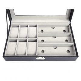 Cutie pentru ceasuri si ochelari