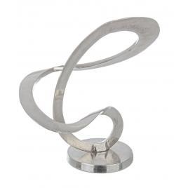 Decoratiune de masa aluminium sculpture 35 cm x 18 cm x 41 h