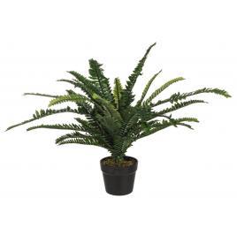 Feriga artificiala verde in ghiveci cu 30 frunze 60 cm x 60 cm x 60 h