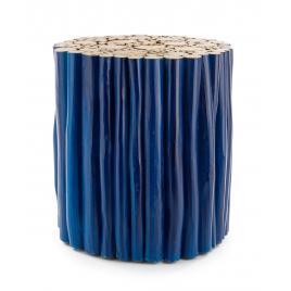 Masuta cafea lemn albastru guadalupe 38 cm x 38 cm x 40 h