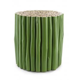 Masuta cafea lemn verde guadalupe 38 cm x 38 cm x 40 h