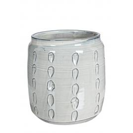 Vaza ceramica gri naxos  Ø 29 cm x 30 h
