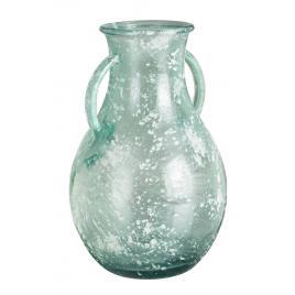 Vaza sticla turcoaz amphora Ø 20 cm x 32 h