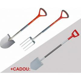 Set unelte WOLF-Garten de sapat cazma ASP-D lopata AS-E +CADOU furca AG-E