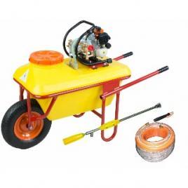 Pulverizator tip roaba TPB 256 motor 2T 26 cm and sup3 volum vas 70 litri