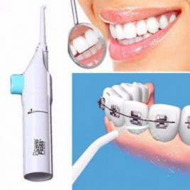 Irigator bucal pentru curatare dentara power floss+
