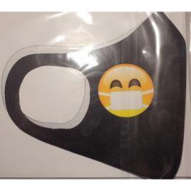 Masca protectie emoji cu masca, reutilizabila