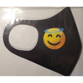 Masca protectie emoji ingeras, reutilizabila