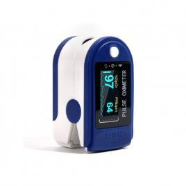 Pulsoximetru, cu display, pentru masurare, puls si oxigenul din sange, baterii...