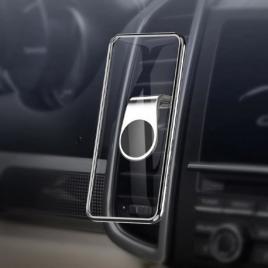 Suport ,magnetic ,pentru telefon, velco, prindere pe grila de ventilatie, auto
