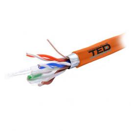 Cablu ftp cat 6 cupru 0.56mm lszh 305m ted electric