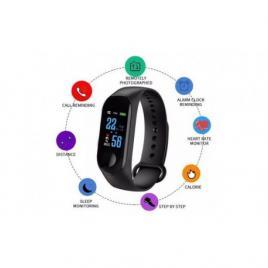 M3 plus, bratara fitnes smartband, bluetooth,ritm cardiac, notificari apeluri,...