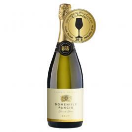 Vin spumant domeniile panciu blanc de blancs, alb, brut, 0.75l
