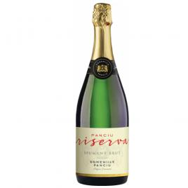 Vin spumant panciu riserva, alb, brut, 0.75l