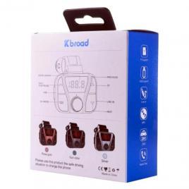 Modulator FM Kbroad KCB-925 cu telecomanda, bluetooth, USB, TF card, Line in, ecran digital, slp21