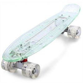 Penny board cu placa si roti cu led