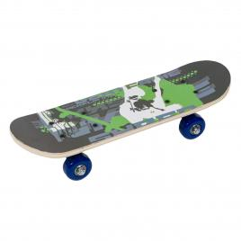 Skateboard mini pentru copii, Zola®, 43cm