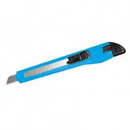Cutter plastic cu buton blocare - 9mm