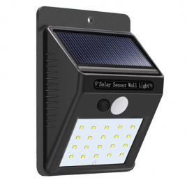 Lampa perete solara cu senzor, isp2, 40smd/6400k