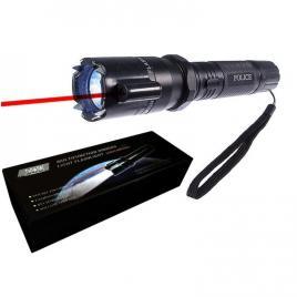 Lanterna cu laser si Electrosoc 288 Flashlight cu Led din Aluminiu Reincarcabila, slp21
