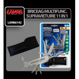 Briceag multifunctional kit supravietuire 11 in 1