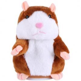 Jucarie interactiva vorbitoare din plus, hamster