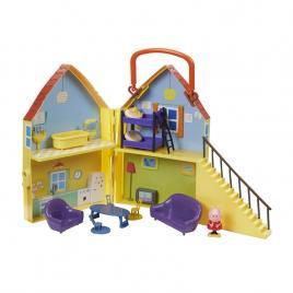 Casuta de papusi cu figurina, Tm Toys, Peppa Pig