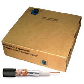 Cablu coaxial rg59u negru 200m
