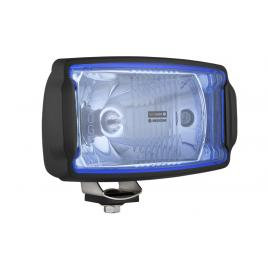 Proiector auto wesem 12/24v 220x123x120mm universale albastre carcasa neagra , cu lumina de drum , 1 buc. kft auto