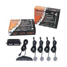 Senzori parcare automax cu afisaj si semnalare acustica , 4 senzori argintii kft auto