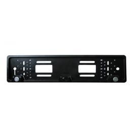 Senzori parcare si camera mers inapoi art in suportul de numar cu 2 senzori si 1 camera video kft auto