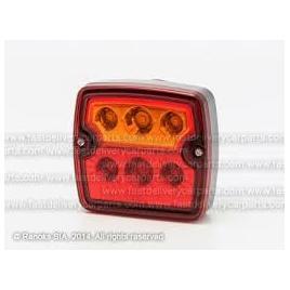 Stop spate lampa universal, spate, omologare ece,12/24v, 105x98x30mm, led, fara lumina numar de inmatriculare,, stanga , dreapta kft auto