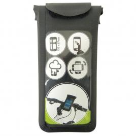 Suport telefon pentru bicicleta, 135x67x11mm, dresco kft auto
