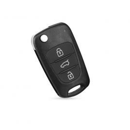 Carcasa cheie auto briceag cu 3 butoane hy-124, compatibil hyundai allcars